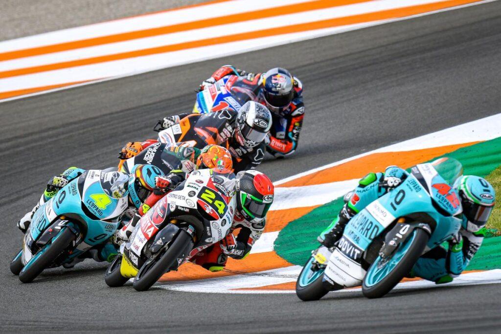 Manuel Poggiali, Team Gresini : « le Moto3 enseigne les valeurs »
